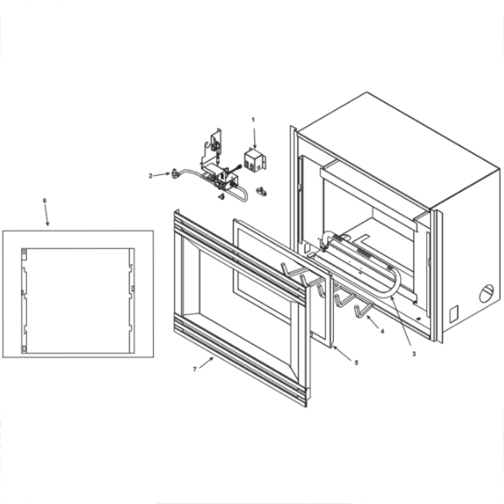 Heat  U0026 Glo 5000tv Bv 32 U0026quot  Gas Fireplace Parts